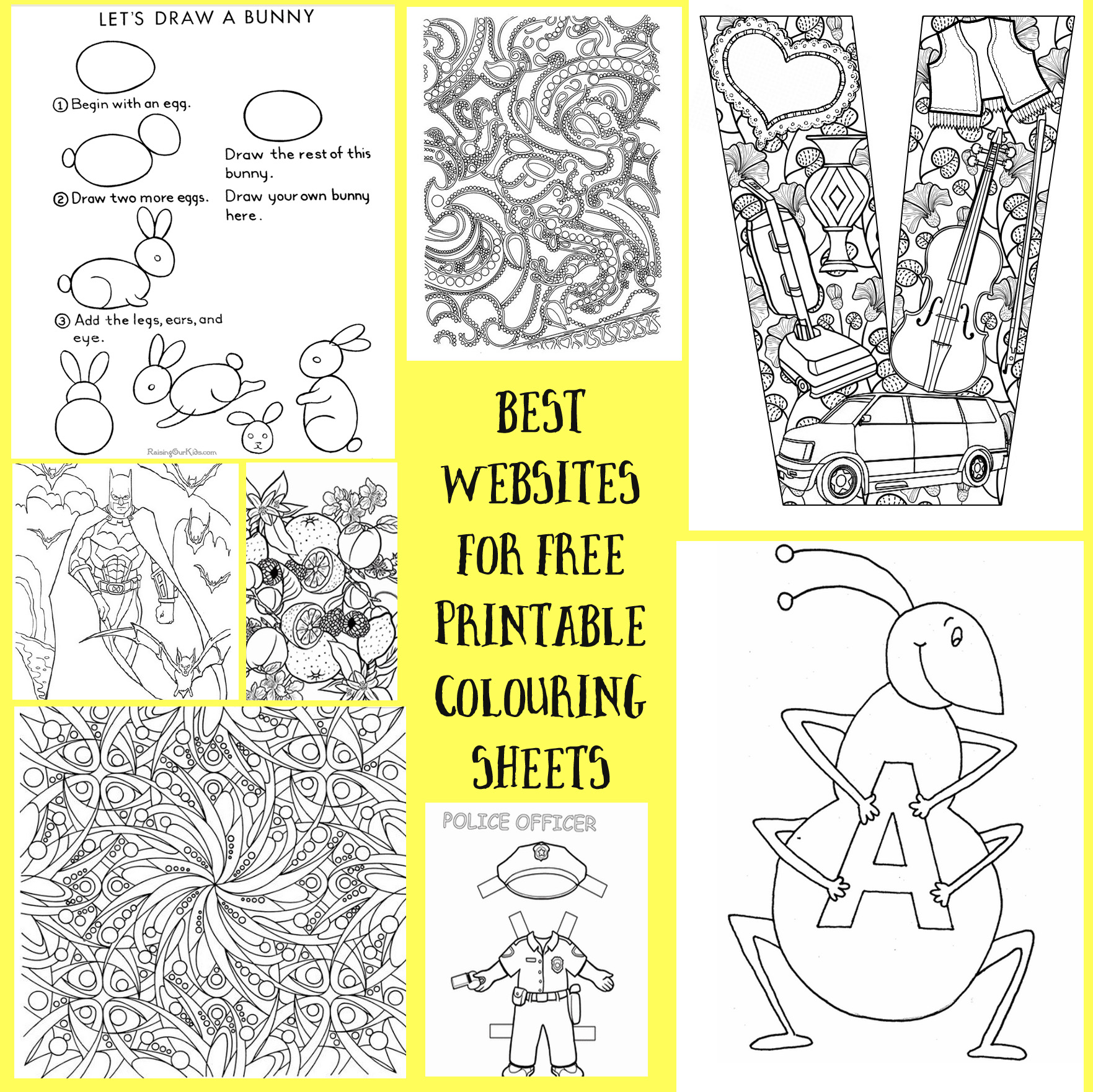 Resources Free Printable Colouring Sheets For Children