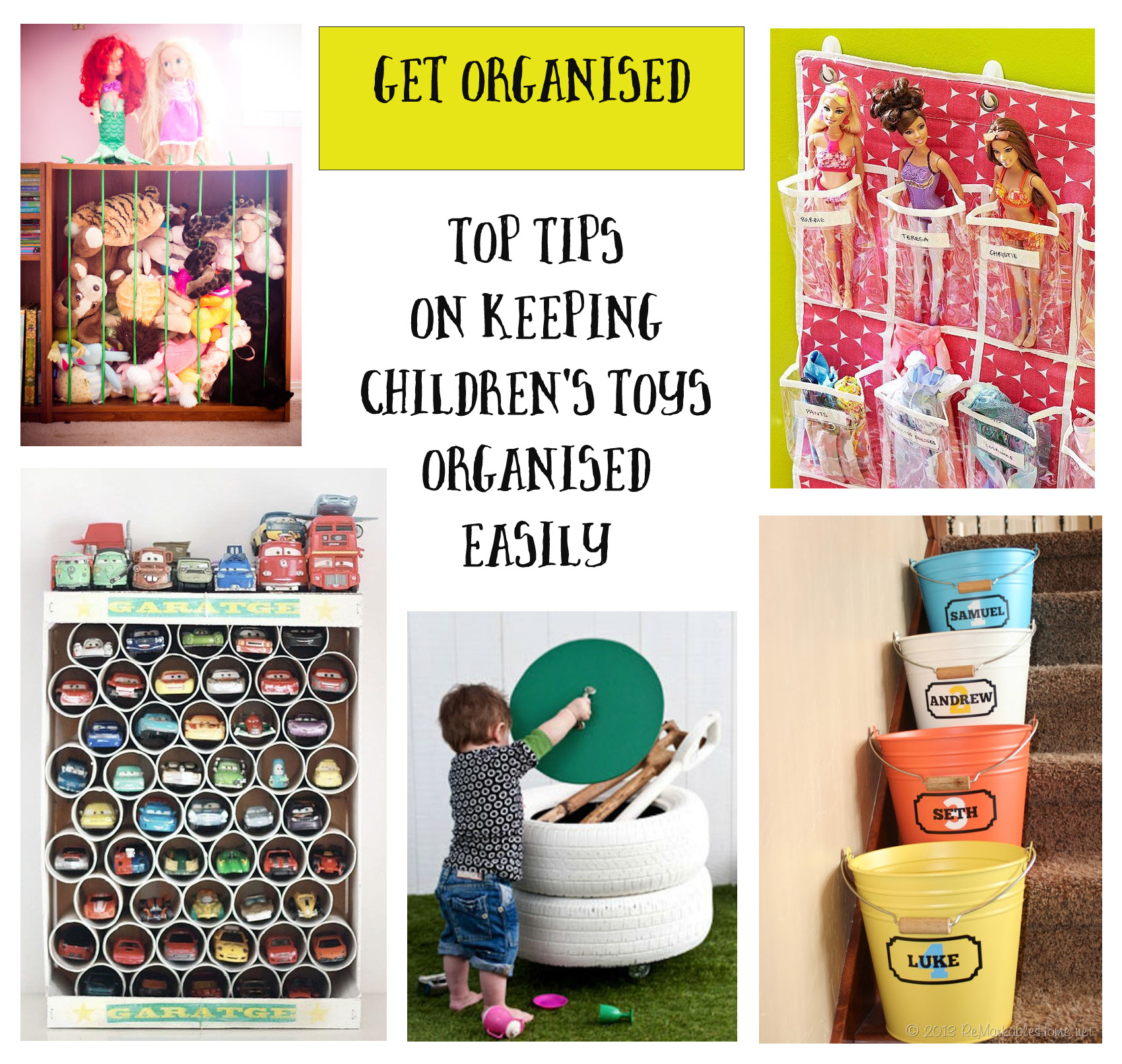 11 Tips For Keeping Kids Toys Organized: Getting Organised: Childrens Toys