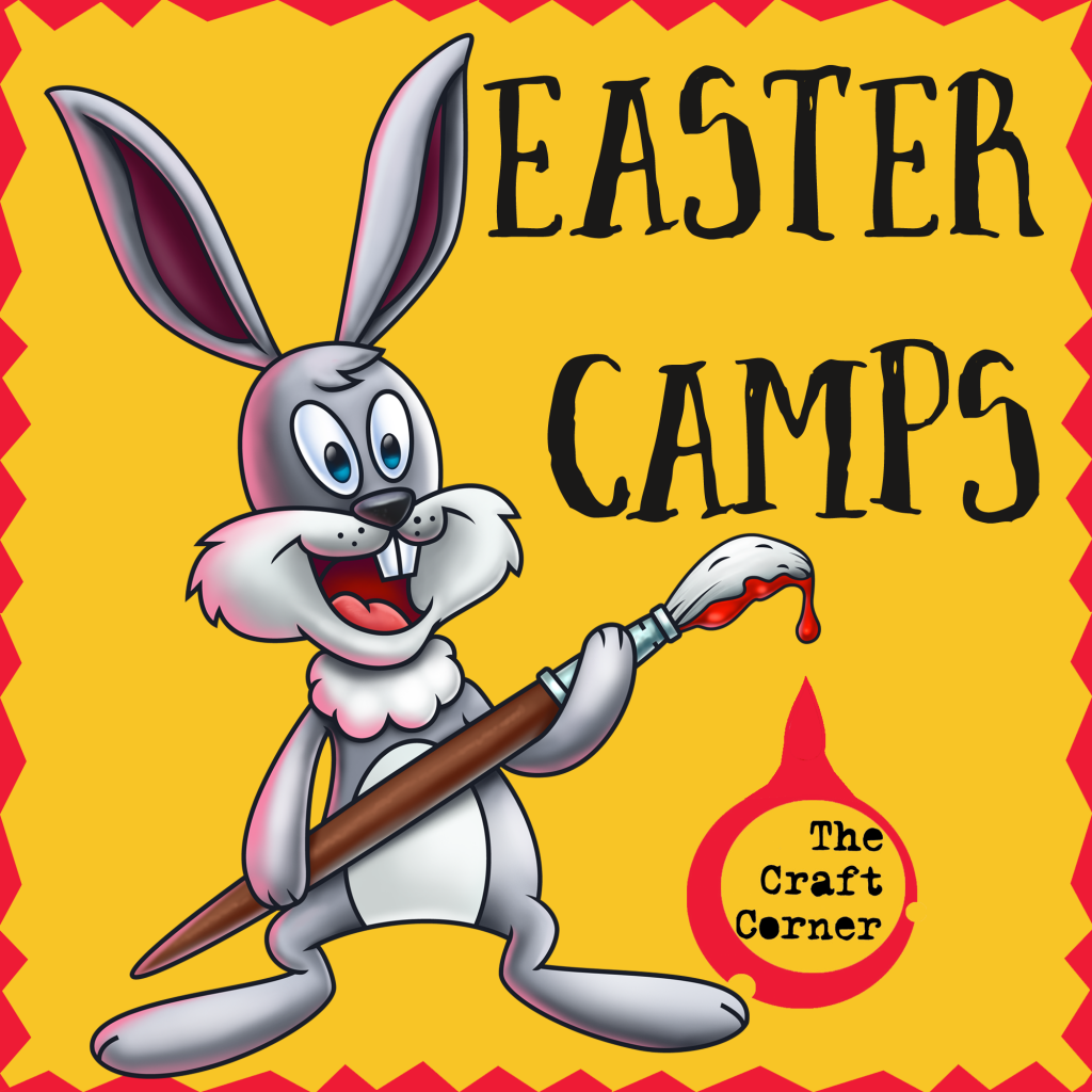 easter arts and craft camps with the craft corner