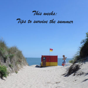 this weeks top tips to survive the summer from the craft corner
