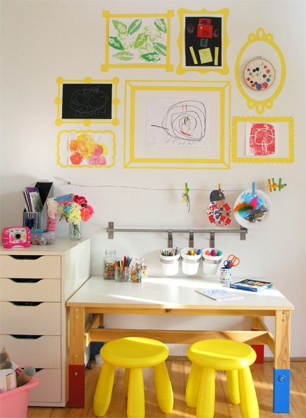 art and craft space from childhood 101