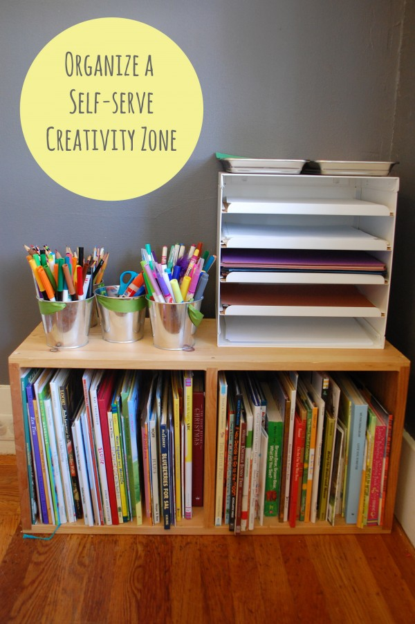 self-serve-creativity-zone-childrens art space