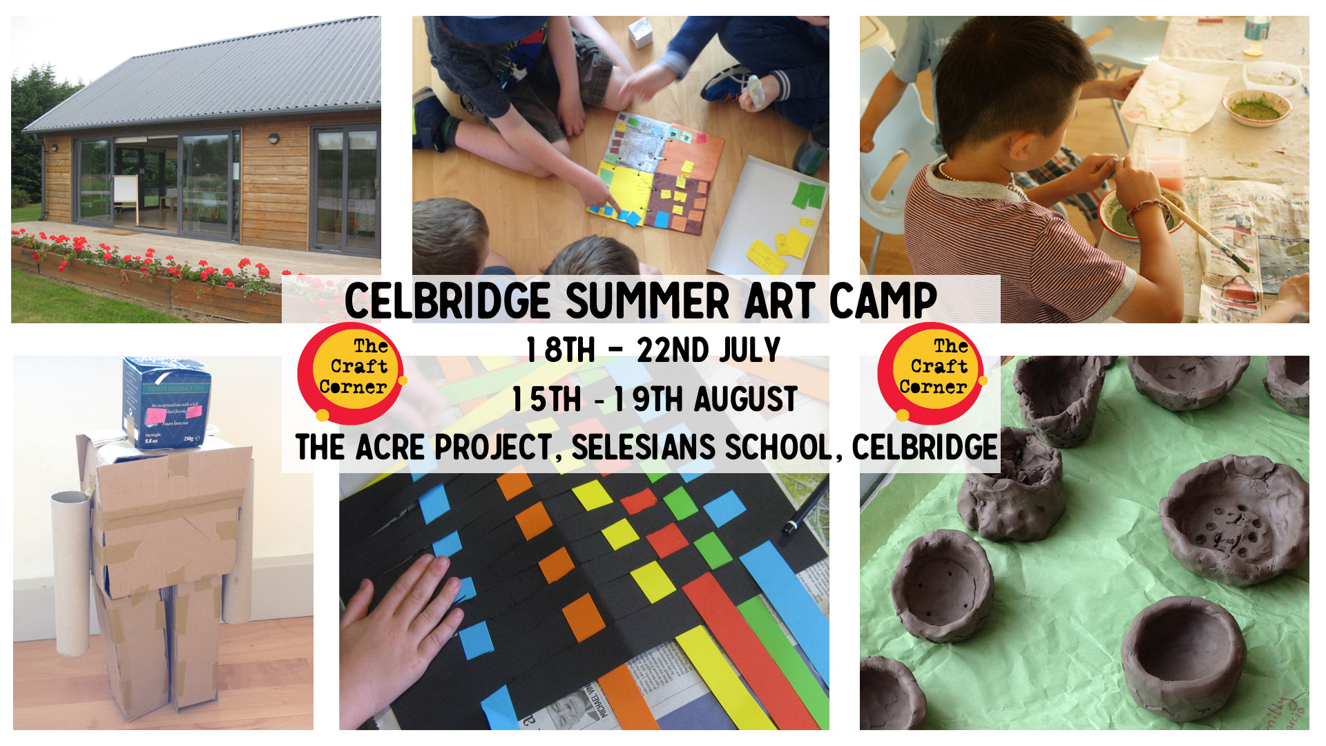 celbridge summer arts and craft camp summer 2016 with the craft corner