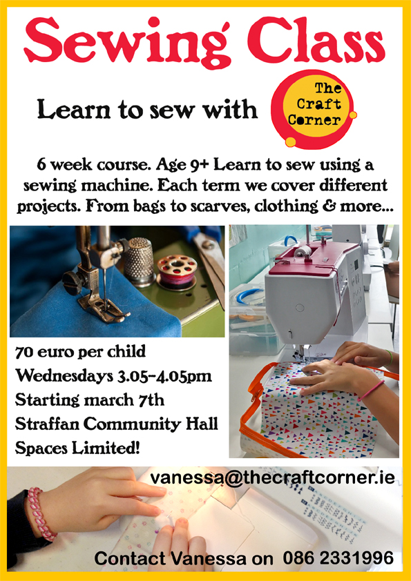 learn to sew machine sewing class