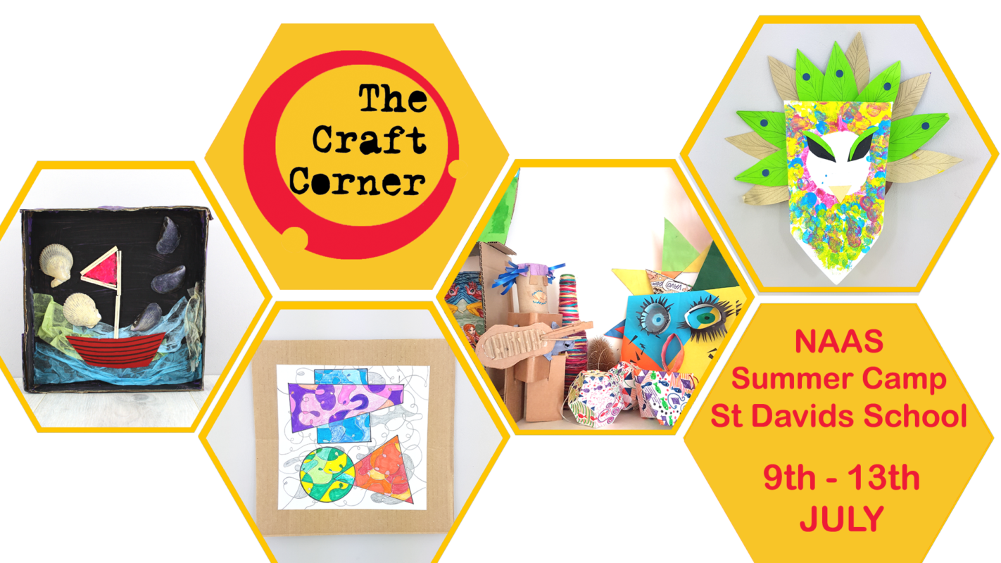 st davids school naas summer arts and craft camp with the craft corner this july