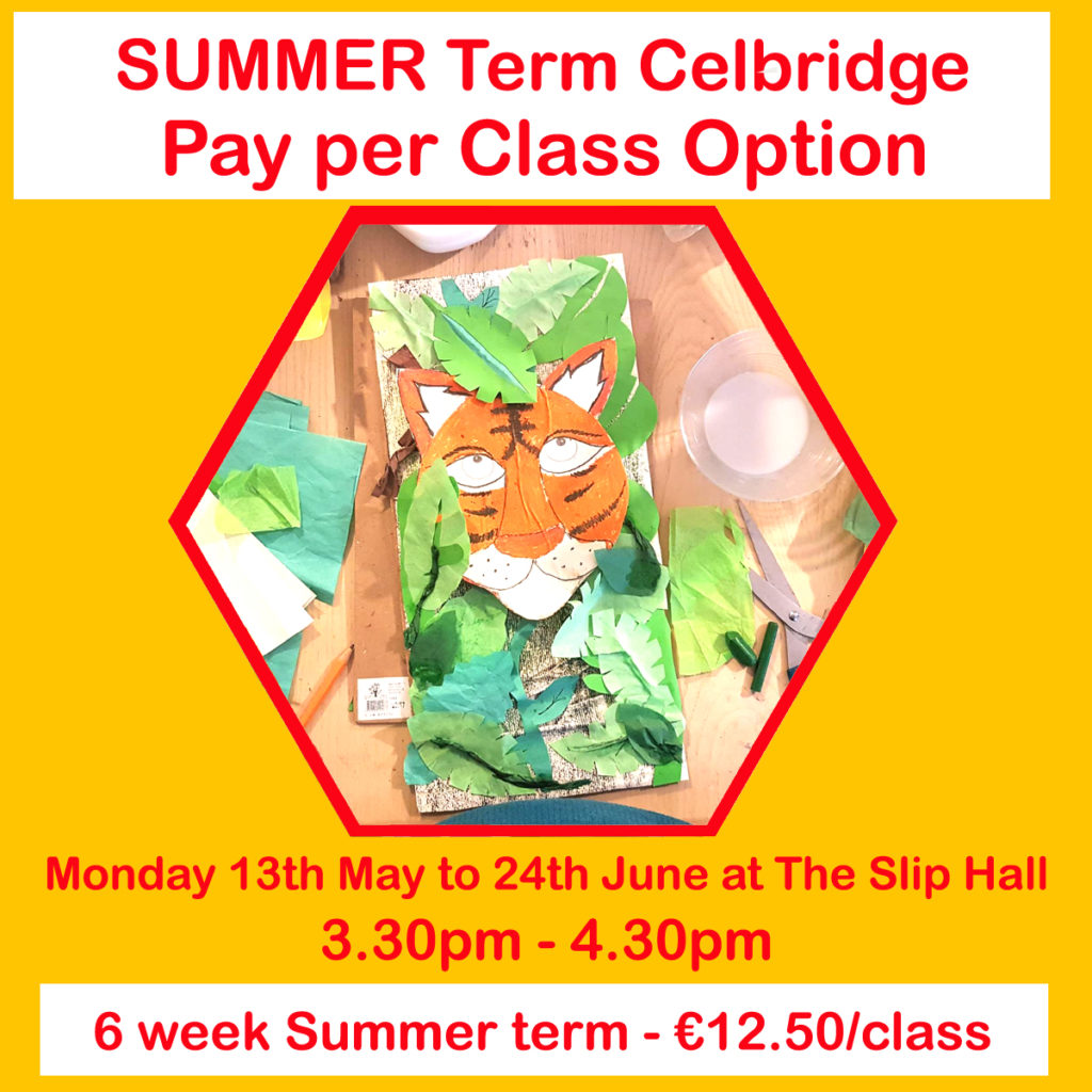 celbridge pay per class option summer term 2019