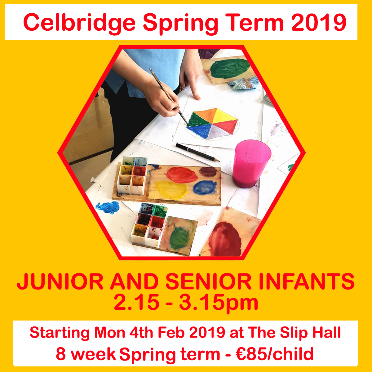 celbridge spring term 2019 junior and senior infants class