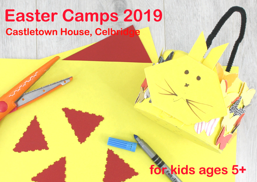 Easter camps with the craft corner in celbridge 2019