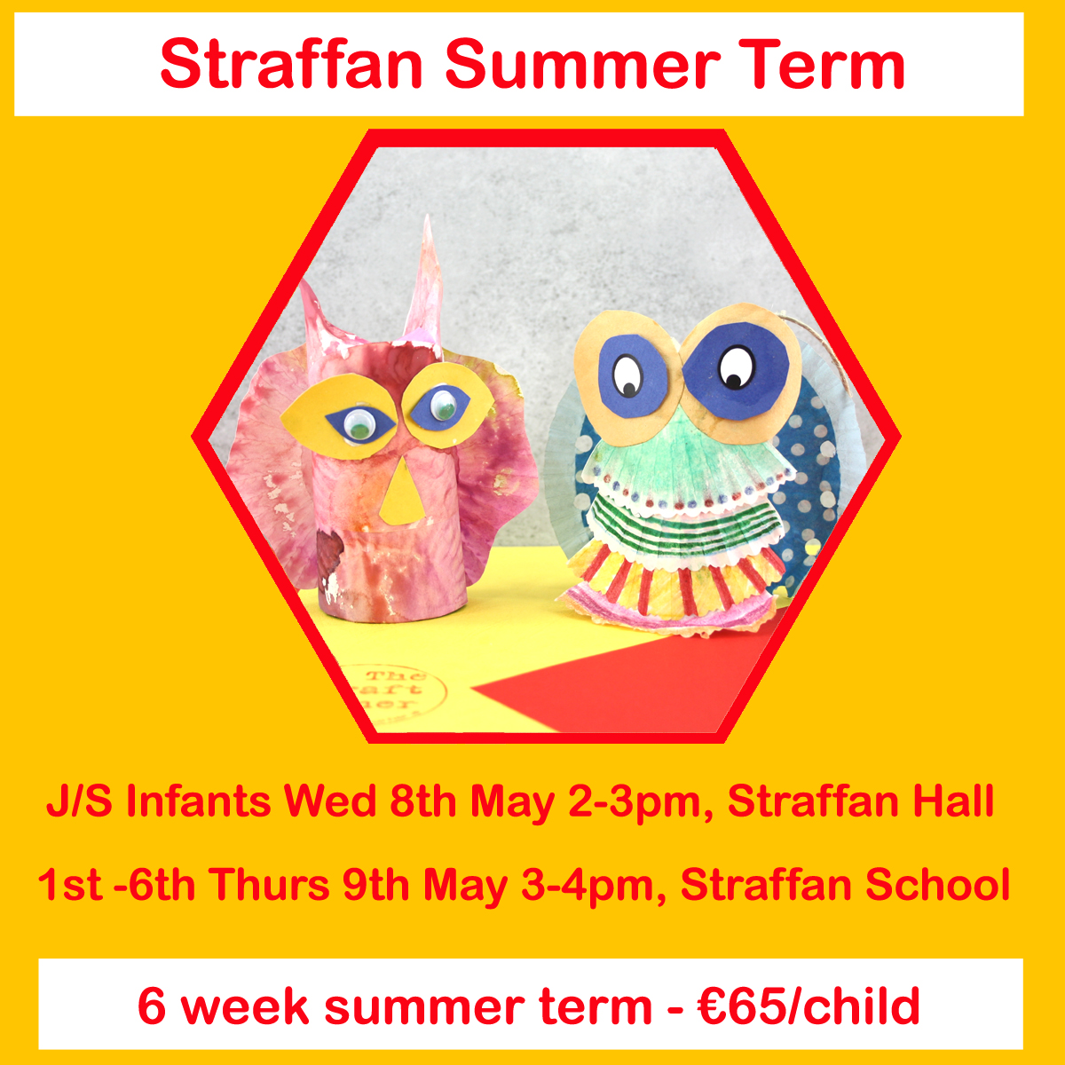 summer term 2019 straffan classes