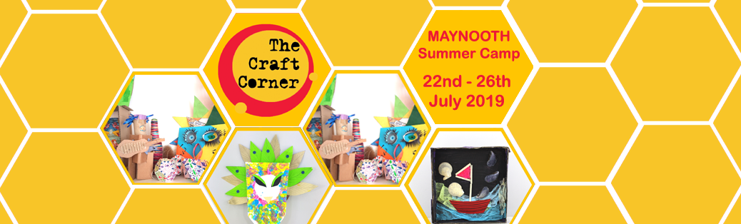 maynooth summer camp 2019 in boys school with the craft corner July