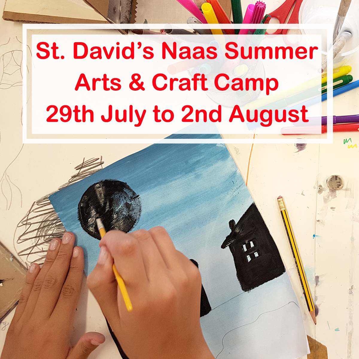 st davids naas summer arts and craft camp with the craft corner 2019