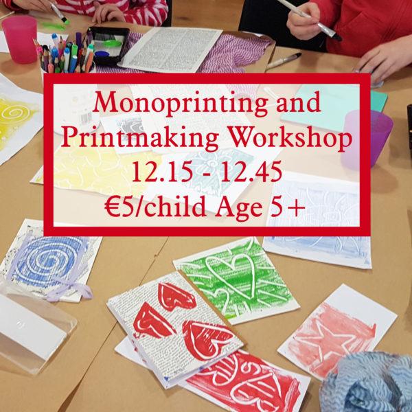 Printmaking Workshop for Children
