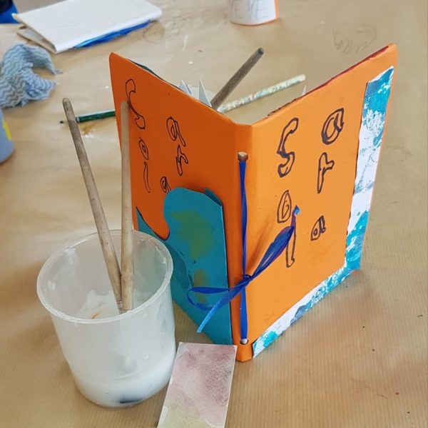 learn to make your own art journal with the craft corner in Maynooth this February