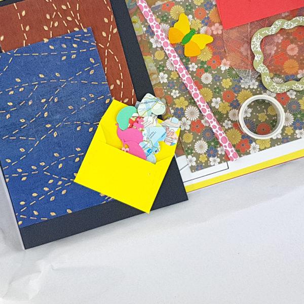 little packs of confetti