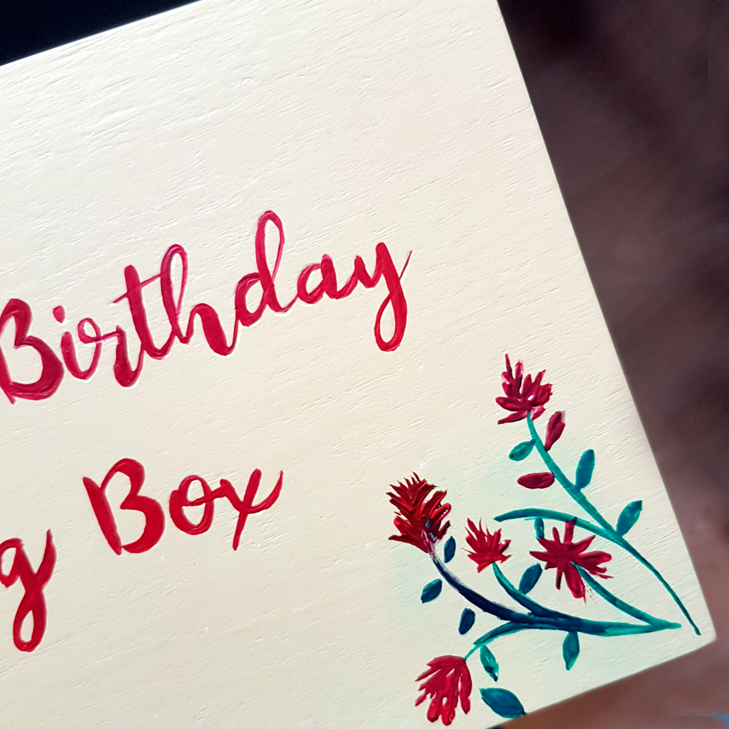 Custom Birthday Box Gift