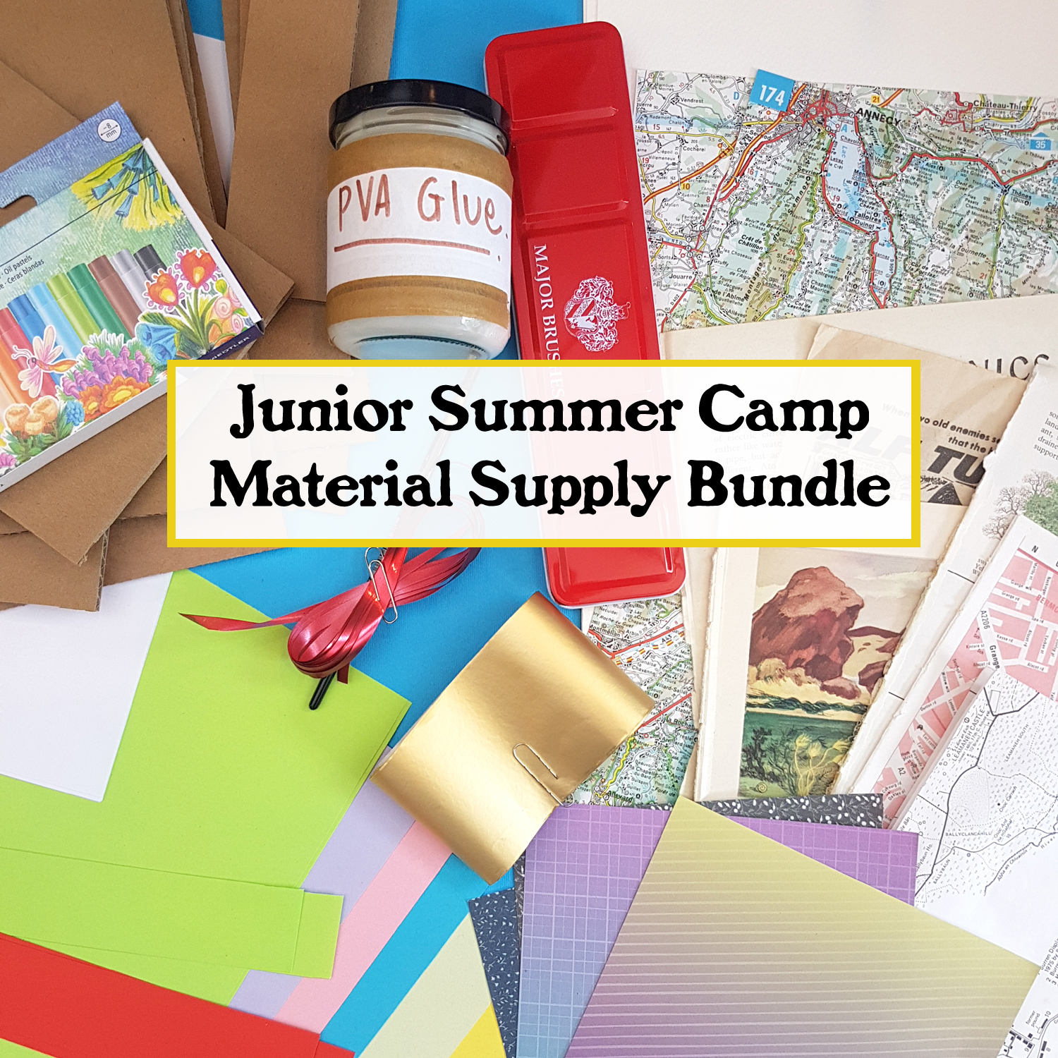 junior summer camp supply bundle