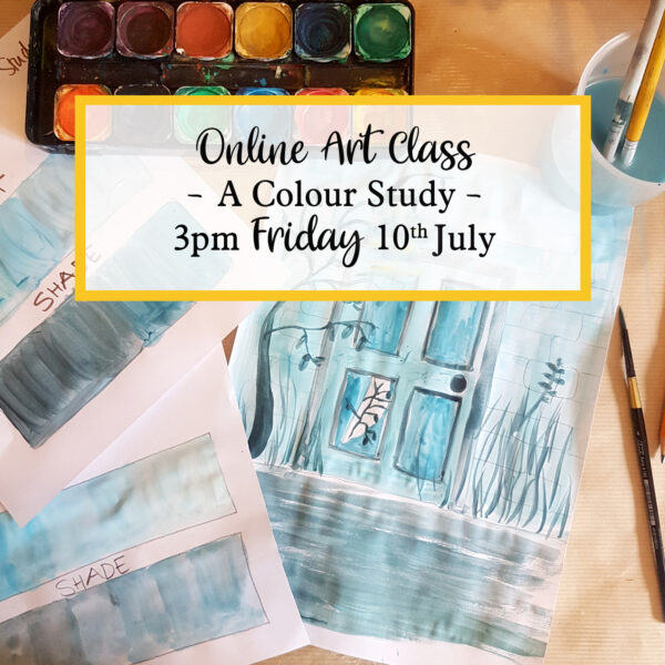 online art class a colour study friday 10th july