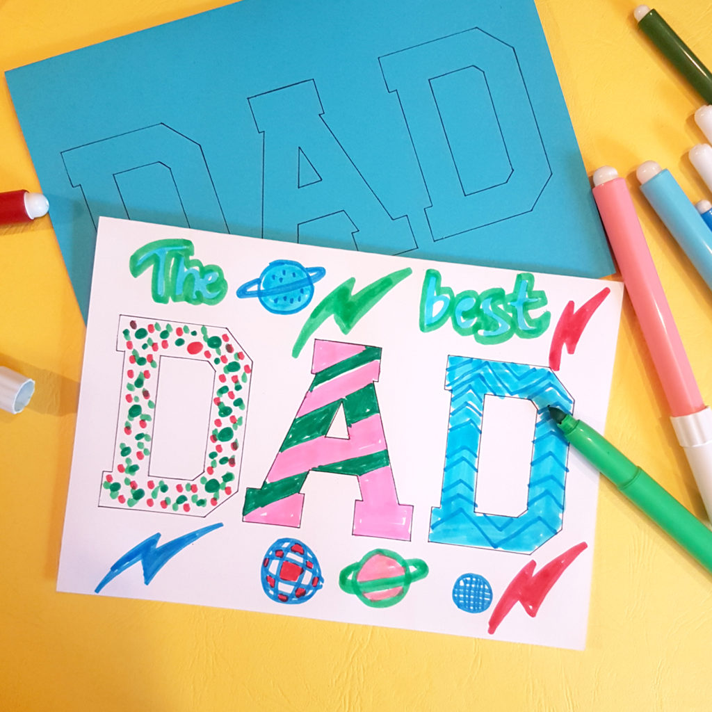the best dad diy father's day cards made by kids