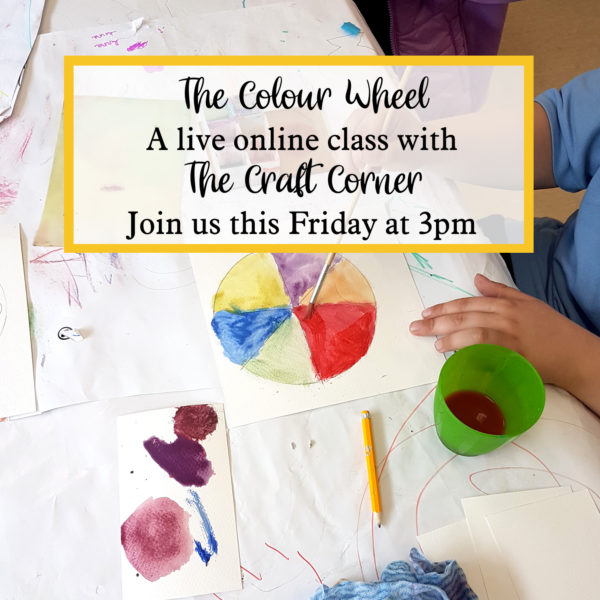the colour wheel a live online class with the craft corner