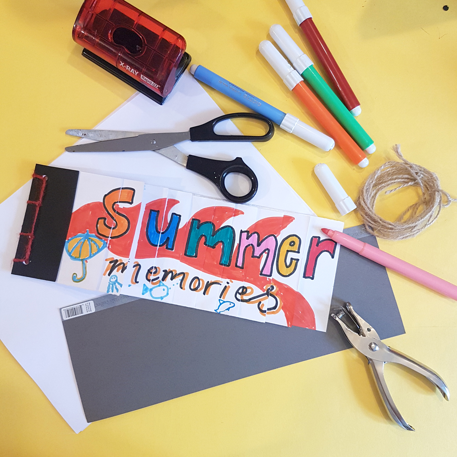 Summer Memories Notebook Workshop